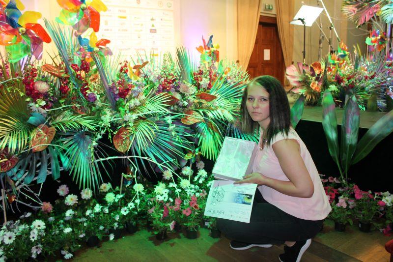 Mistrovství floristů České republiky – Děčínská kotva 2019